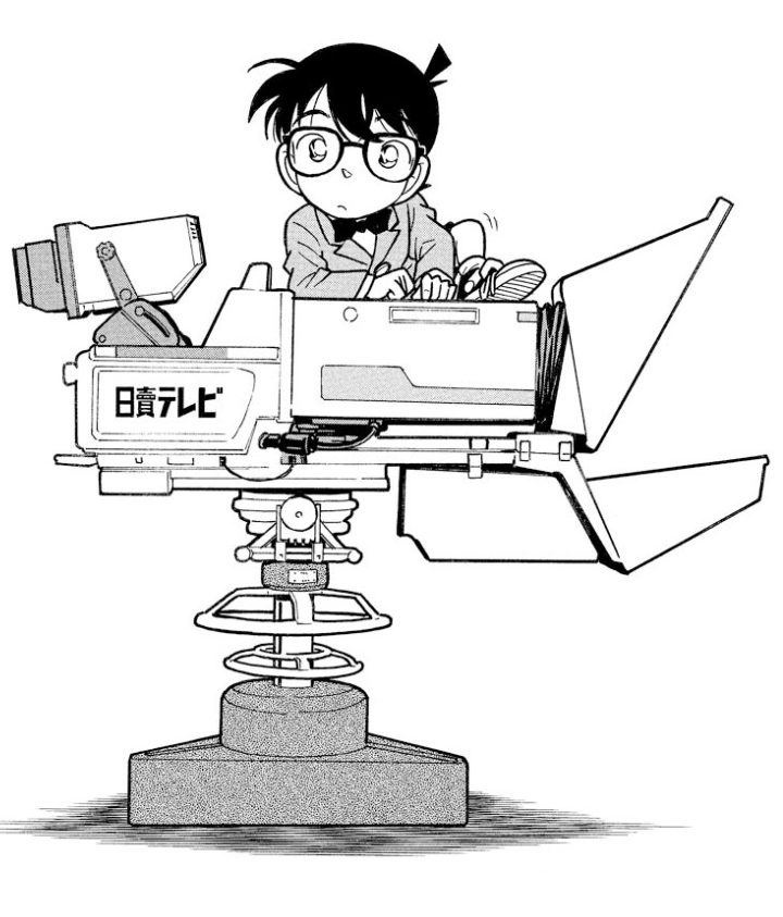 テレビ局殺人事件(名探偵コナン11巻 file2-4)